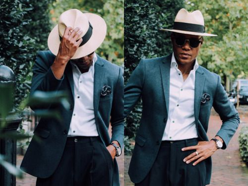 Men's hat inspiration #3 | MenStyle1- Men's Style Blog