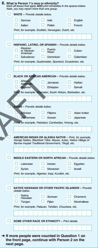 The Obama administration had proposed artificially creating yet another pan-ethnic grouping, for Americans of Middle East and North African descent, in the next census.