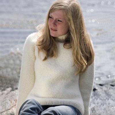 Anette genser - tovet (Troll) - oppskrift