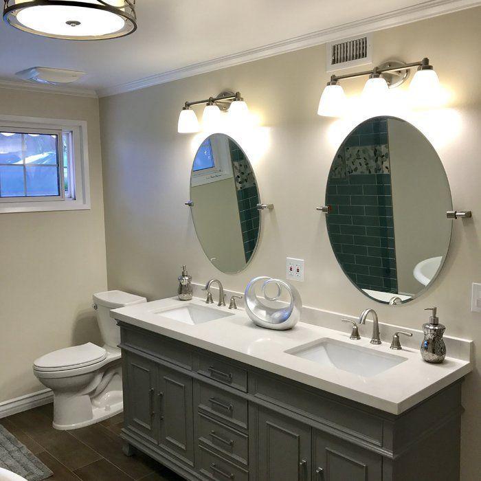 Oval Bathroom Mirror Design Ideas Ovalbathroommirror Bathroom Mirror Bathrooms Remodel Bathroom Styling