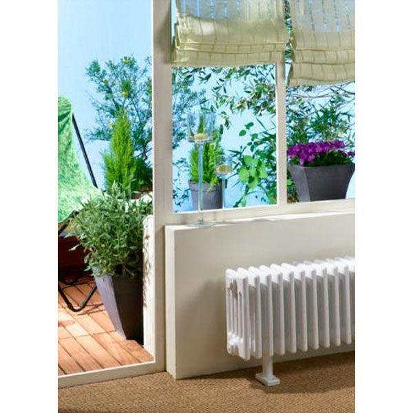 Radiateur électrique Acova VUELTA électrique plinthe sans regul blanc 1000W - ACOVA Réf. TMC3-100-100-SR