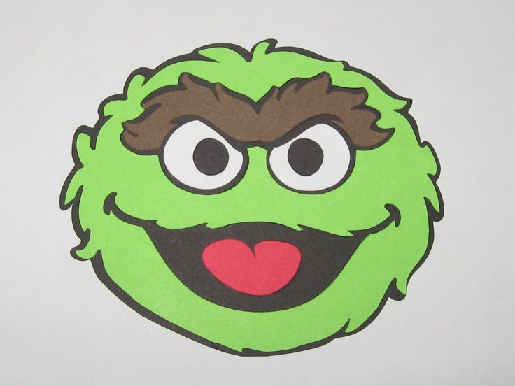 89 best sesamstraat images on pinterest sesame streets sesame cut out oscar shape from green construction paper add facial features place over the pronofoot35fo Choice Image