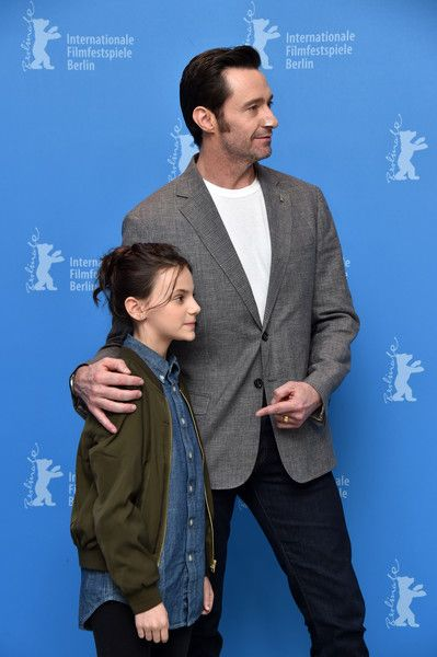 Hugh Jackman Photos Photos - (L-R) Actors Dafne Keen and Hugh Jackman attend the 'Logan' (Masaryk) photo call during the 67th Berlinale International Film Festival Berlin at Grand Hyatt Hotel on February 17, 2017 in Berlin, Germany. - 'Logan' Photo Call - 67th Berlinale International Film Festival
