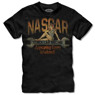 The Game NASCAR Merchandise Pin Up Wrench T-Shirt - Large