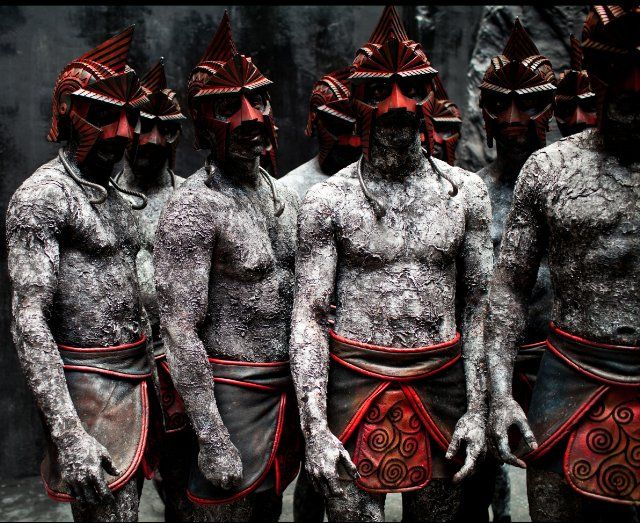 """Titans from the film """"Immortals"""". Lost epic of Titanomachy ..."""