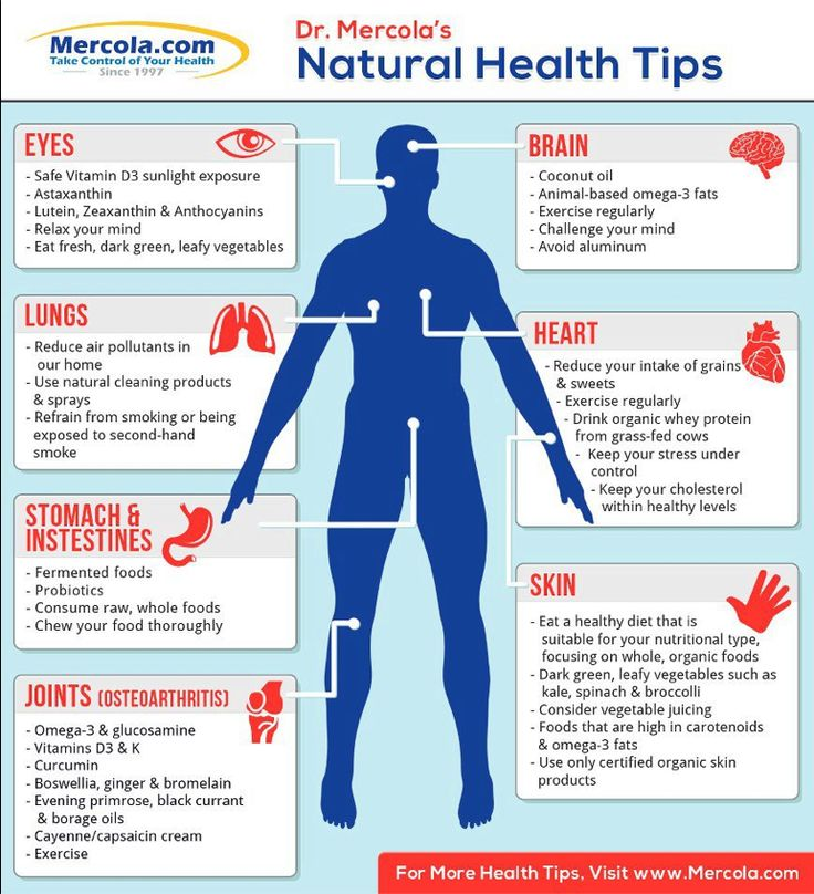how to get good health naturally