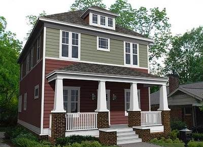 Best  Four Square Homes Ideas On Pinterest Modern Vintage Homes London Home Decor And Foursquare House