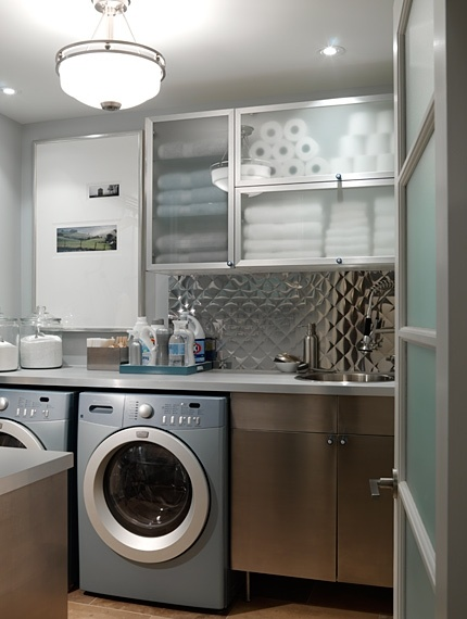 Not your typical laundry room