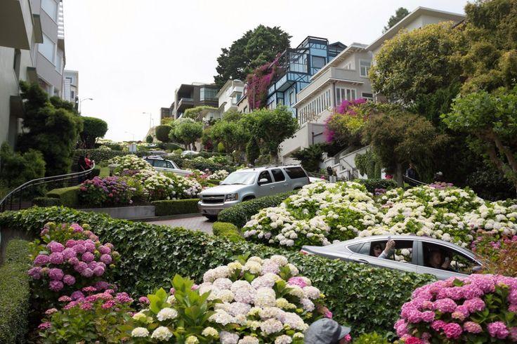 Las 10 #calles más famosas del mundo |#LombardStreet, #SanFrancisco.