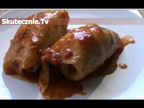 Gołąbki w sosie pomidorowym :: Skutecznie.Tv [HD] - YouTube