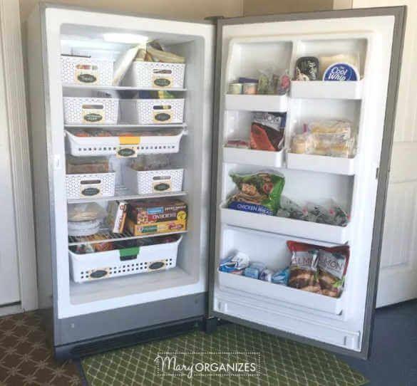 Dollar Store Home Organization 20 Dollar Store Home Organization Ideas Freezer Organization Freezer Storage Organization Diy Pantry Organization