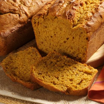 Pumpkin Banana Nut Bread | Meals.com -  Easy-to-make Pumpkin Banana Nut Bread gets an extra flavor twist with the addition of pumpkin.