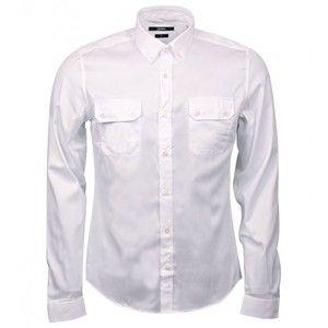 Gucci White Cotton Chest Pocket Shirt