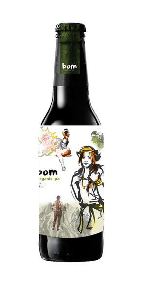 bom craft beer co. by sarah murphy, via Behance