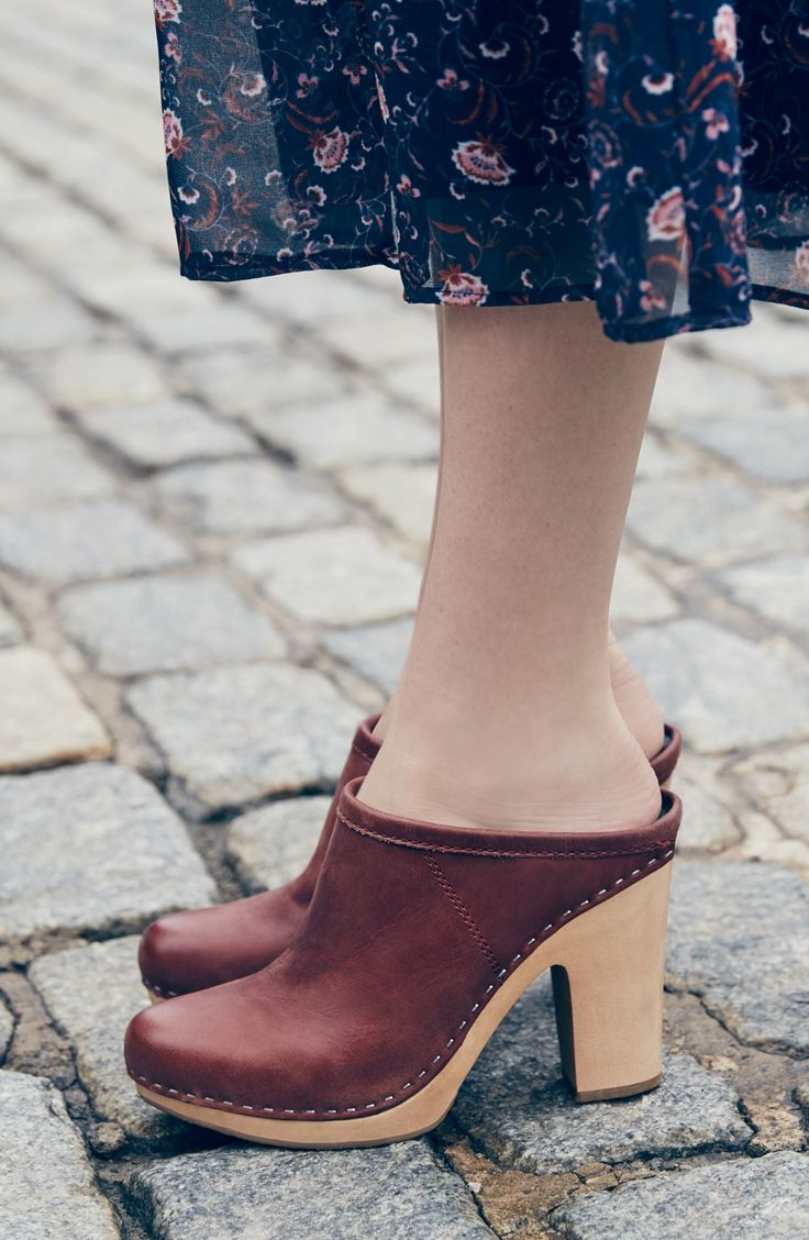 Wooden Clogs are Hot! | Wearing clogs | Pinterest | Wooden ...