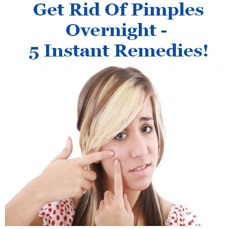 How To Get Rid Of Pimples – 5 Instant Remedies | http://life