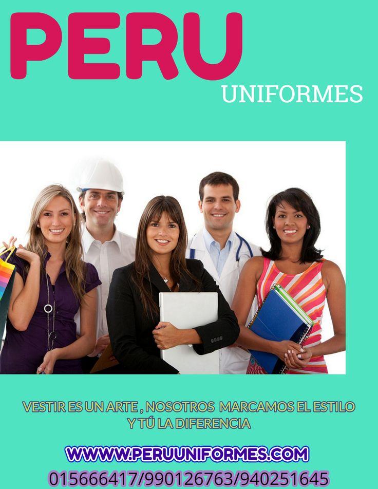 PERU UNIFORMES  Es una empresa con experiencia en la confección y comercialización de uniformes corporativos para empresas privadas y del estado.  Uniformes para Hospitales y Clínicas Gorros, Chaquetas y Pantalones para Médicos y Enfermeras Guardapolvos para Médicos Uniforme o Ropa Quirúrgica para Médicos, Clínicas y Hospitales Uniformes