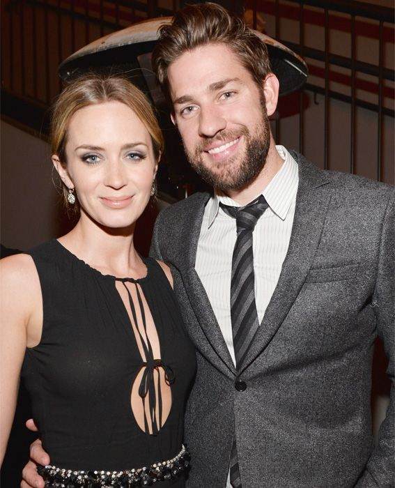 Emily Blunt and John Krasinski's Cutest Couple Moments - April 18, 2013