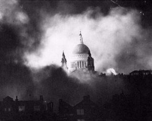 St. Pauls Cathedral, London 1940.