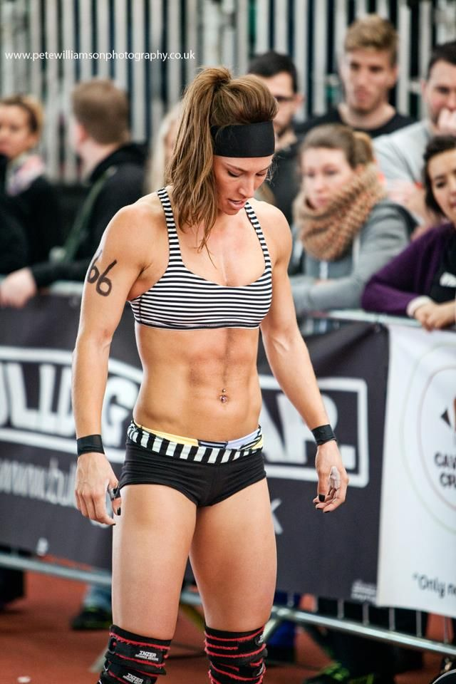 My Crossfit inspiration!!! Andrea Ager