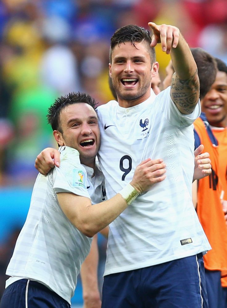 Olivier Giroud Photos: France v Nigeria