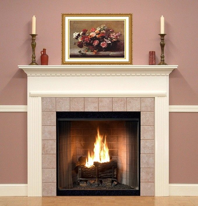 Fireplace Painting Fireplace Pretty Fireplace Mantel