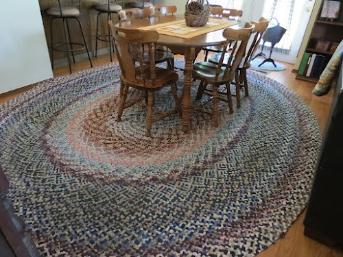 Delightful Hand Braided Rugs. Story Of My Motheru0027s Rug Braiding Craft. Heirloom Rugs  We Have