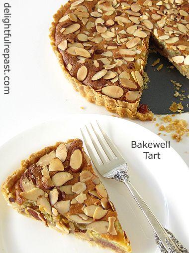 Classic Bakewell Tart / www.delightfulrepast.com