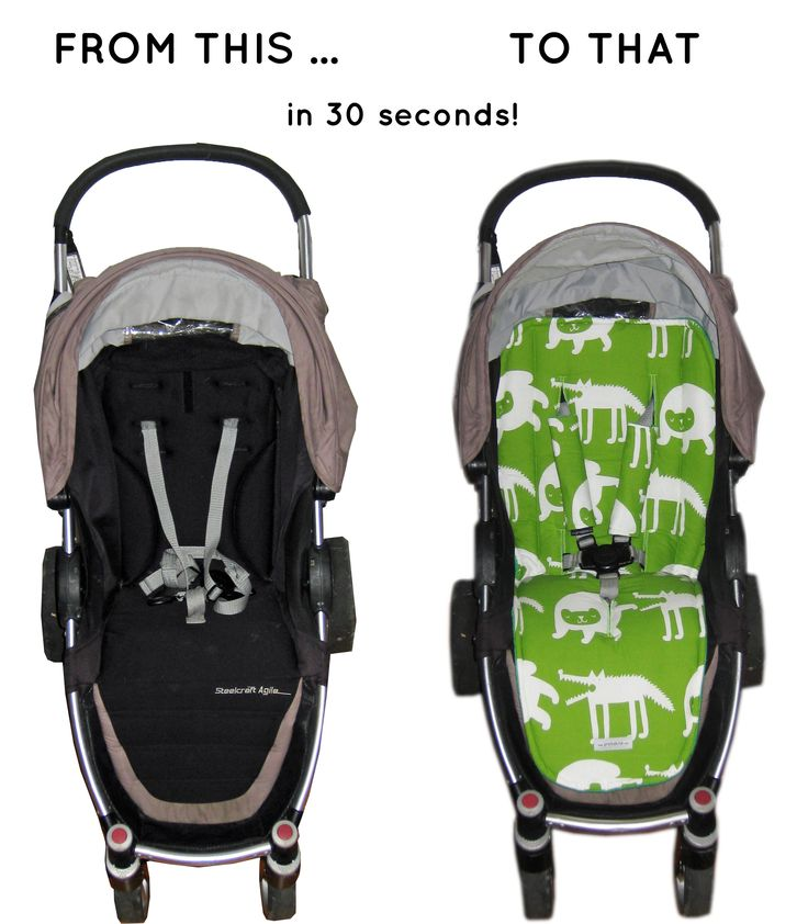 Transform your pram with Pramskins pram liner. Here is what Cute Forest Animals did for our tired Steelcraft Agile ...