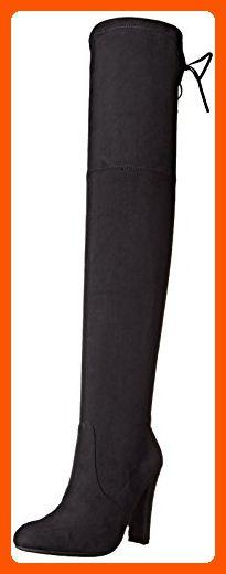 Steve Madden Women's Gorgeous Winter Boot, Black, 6 M US - All about women