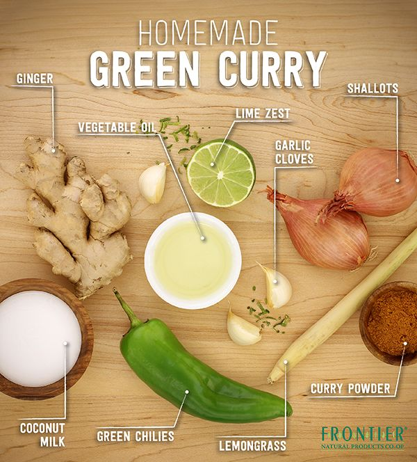 Learn how to make your own homemade green curry sauce. This sauce gets its color and signature flavor from fresh green chilies, cilantro, lime and lemongrass. Serve it over rice, sautéed meats, tofu or vegetables of your choice.