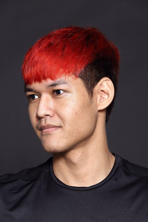 red men hair color