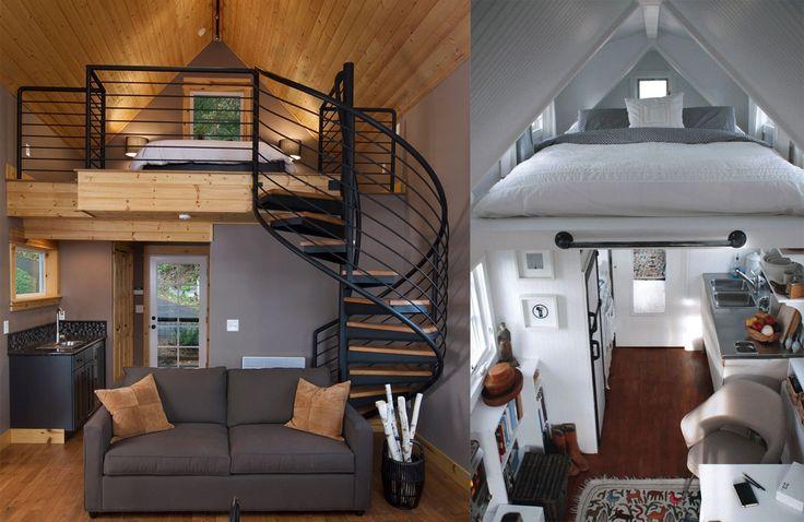 Med ett sovloft maximerar man ytan i hemmet, vare sig det handlar om att utnyttja varenda kvadratmeter i attefallshuset eller den generösa takhöjden i lägenheten. Istället för en stege till sovloftet kan man exempelvis ha ett skafferi som trappa.