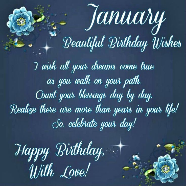 Happy Birthday To Walkonby Jan 30: 63 Best Months ~ January Images On Pinterest