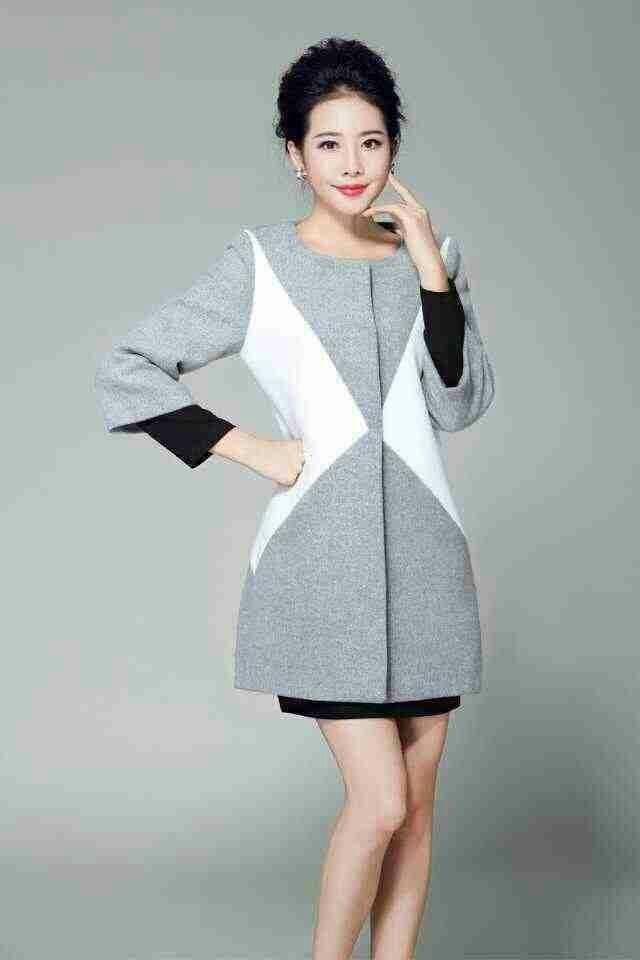 KK美衣小店,[爱丽迩高端服装] 超好质量羊绒大衣  版型正,不挑人 百搭款  1个颜色  3个码 M L XL