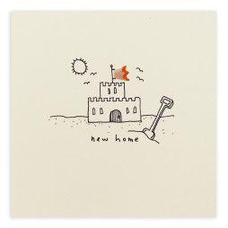 Pencil Shavings Cards - New Home Castle
