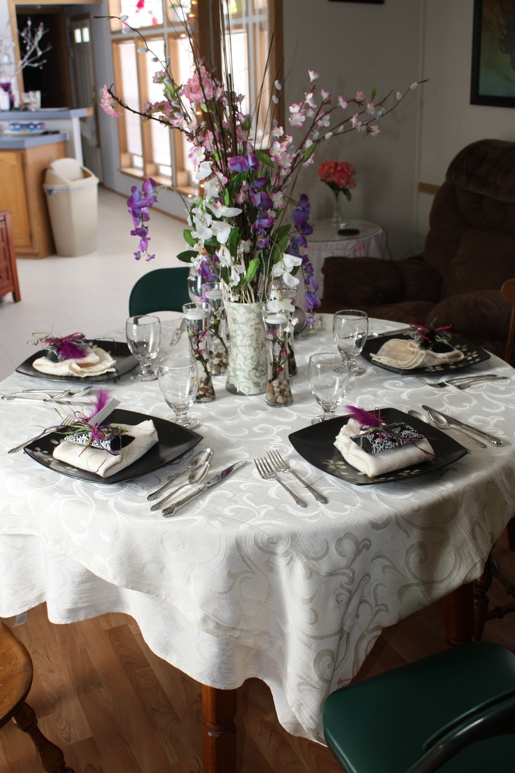 Formal dinner party table - My Friend And I Put Together A Formal Dinner Party Just For The Girls