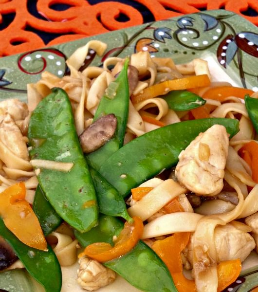Easy Chicken Lo Mein | OAMC from Once A Month Mom