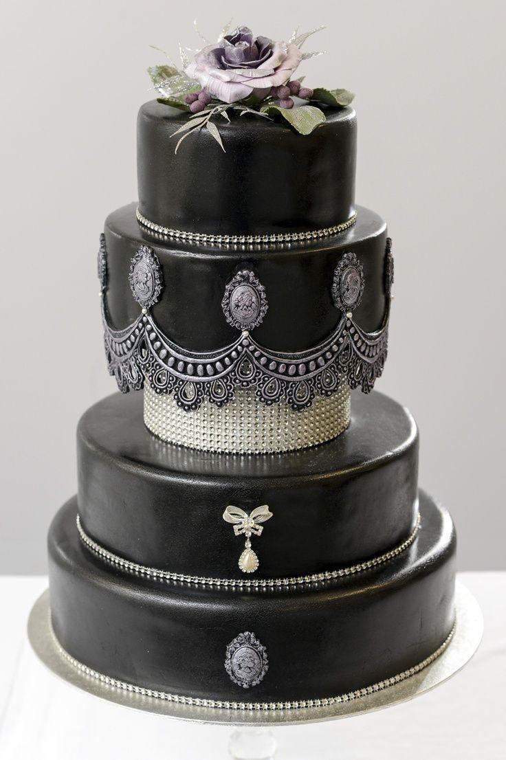 Gothic Style Wedding Cakes