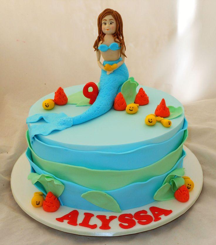 Mermaid Cake by My Cake Place http://www.mycakeplace.com.au/