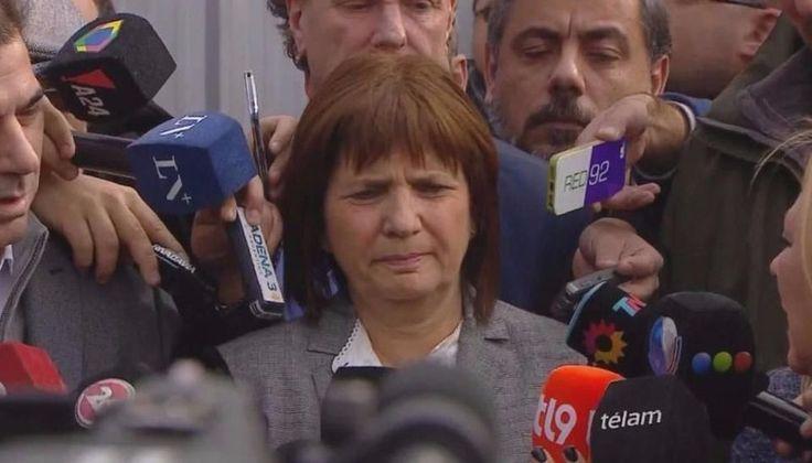 """Patricia Bullrich: """"Dimos un golpe a las mafias que trabajaban en La Salada"""": La ministra de Seguridad celebró los allanamientos realizados…"""