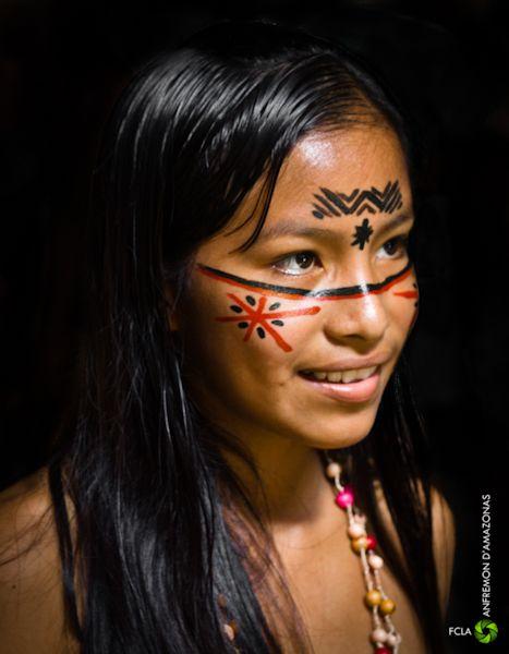 Indian girl from Brazil