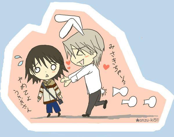 Junjou Romantica - Misaki e Usagi