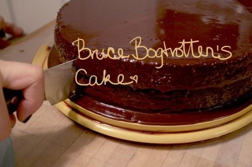 Chocolate cake recipe from Matilda! I love it. :D