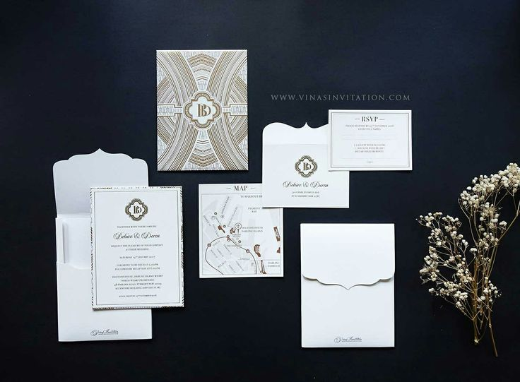 37 best Undangan Pernikahan images on Pinterest Bridal invitations - wedding invitation design surabaya