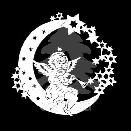 Anděl na měsíci - trumpeta