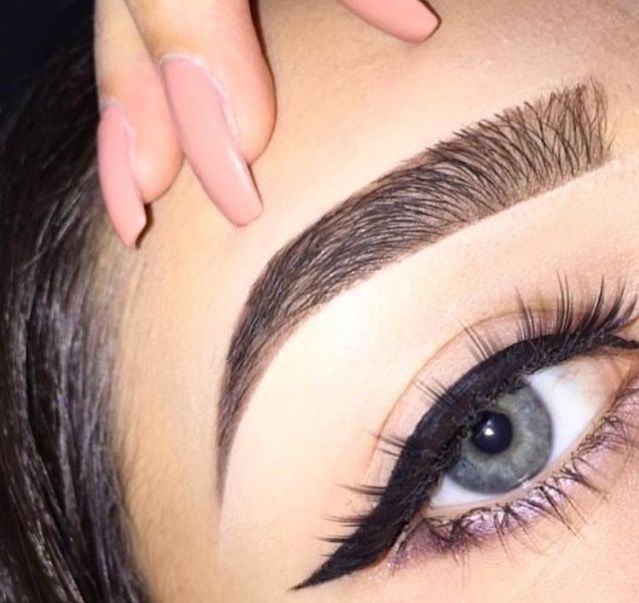 Wish me eyebrows looked like this