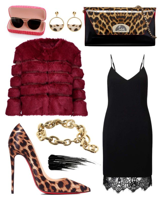 """""""Senza titolo #454"""" by kirsten-weigh on Polyvore featuring moda, Christian Louboutin, Miss Selfridge, AINEA, Michael Kors e Urban Decay"""