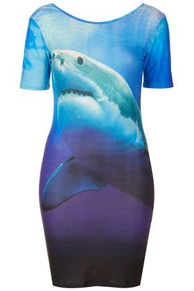 I want this so bad but it is sold out. Super sad face! Topshop shark dress
