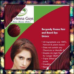 burgundy henna hair dye 100 grams by the henna guys 699 dyes your gray - Henn Color